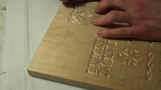 Геометрическая резьба по дереву. Урок 8