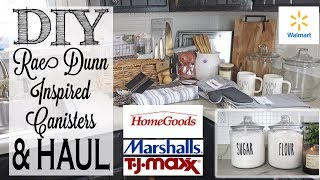 diy-rae-dunn-inspired-canisters-kitchen-accessories-haul-home-goods-tj-maxx-marshalls-walmart