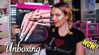 MIA SECRET PROFESSIONAL ACRYLIC NAIL KIT UNBOXING UK STOCK | IdleGirl