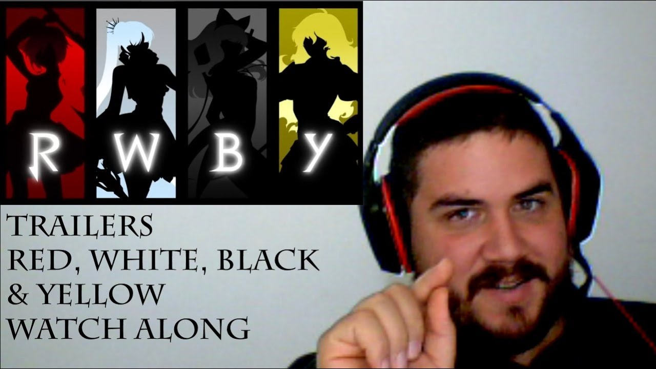 RWBY Watch Along (Blind Reaction) - Trailers!!~ This is not what I was  expecting!!