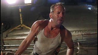 Джон спасается в дамбе.Крепкий орешек 3 Возмездие  Die Hard With A Vengeance (1995) Фрагмент ENG.SUB