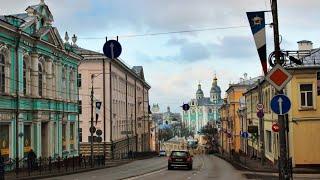 Поездки  по Смоленским улицам на регистратор.  Путешествия.