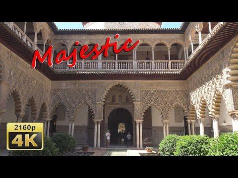 Royal Alcazar of Seville - Spain 4K Travel Channel