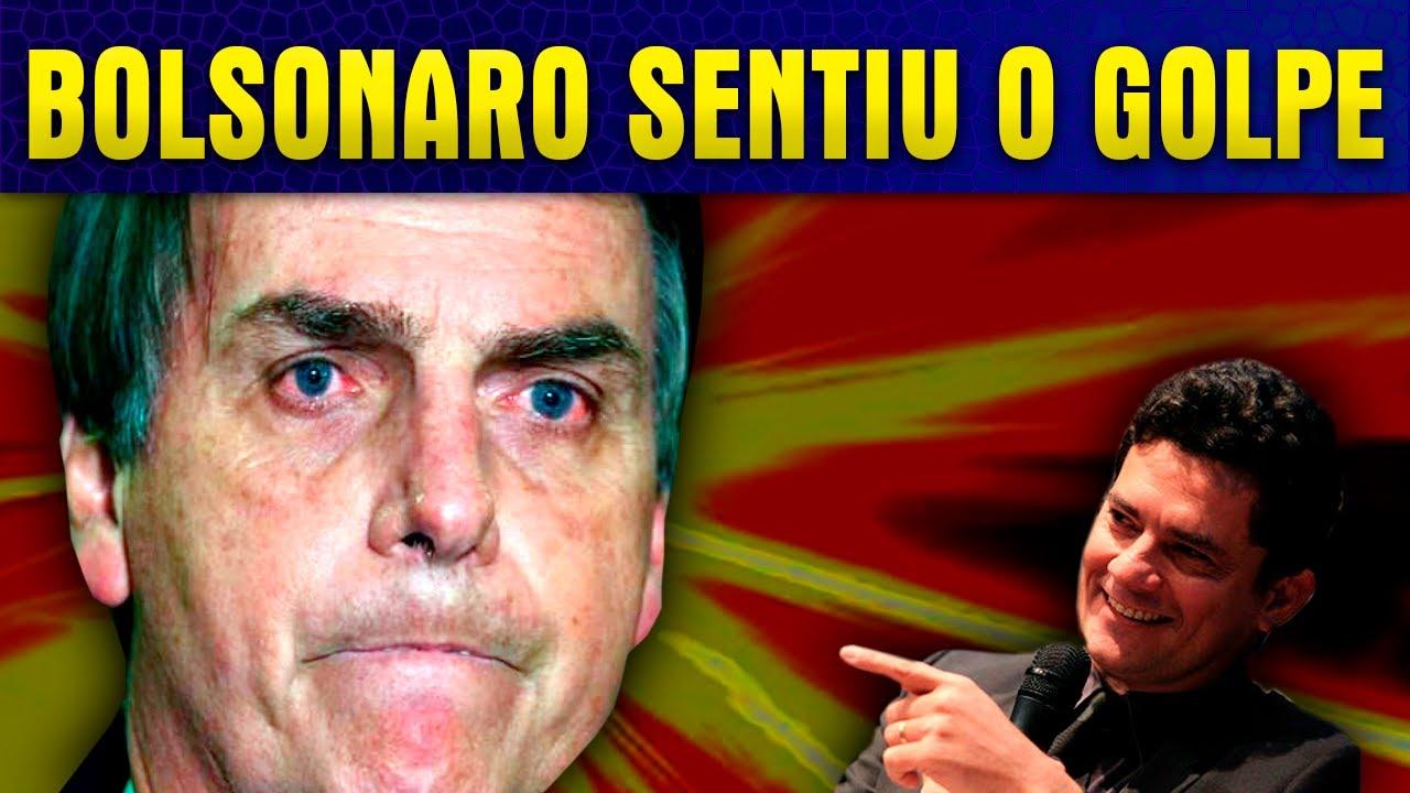 MORO CONTRA-ATACA E EXPÕE B0LSONARO COMO NUNCA ANTES!