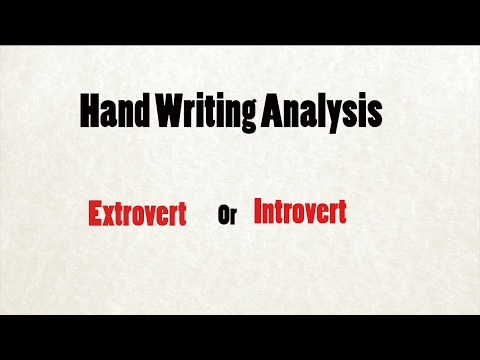 Handwriting Analysis : What Your Handwriting Says about You | Handwriting Personality