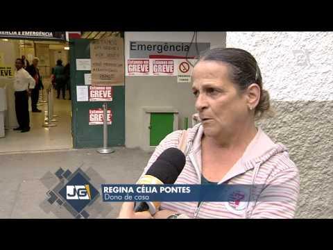 Médicos residentes do Hospital São Paulo param