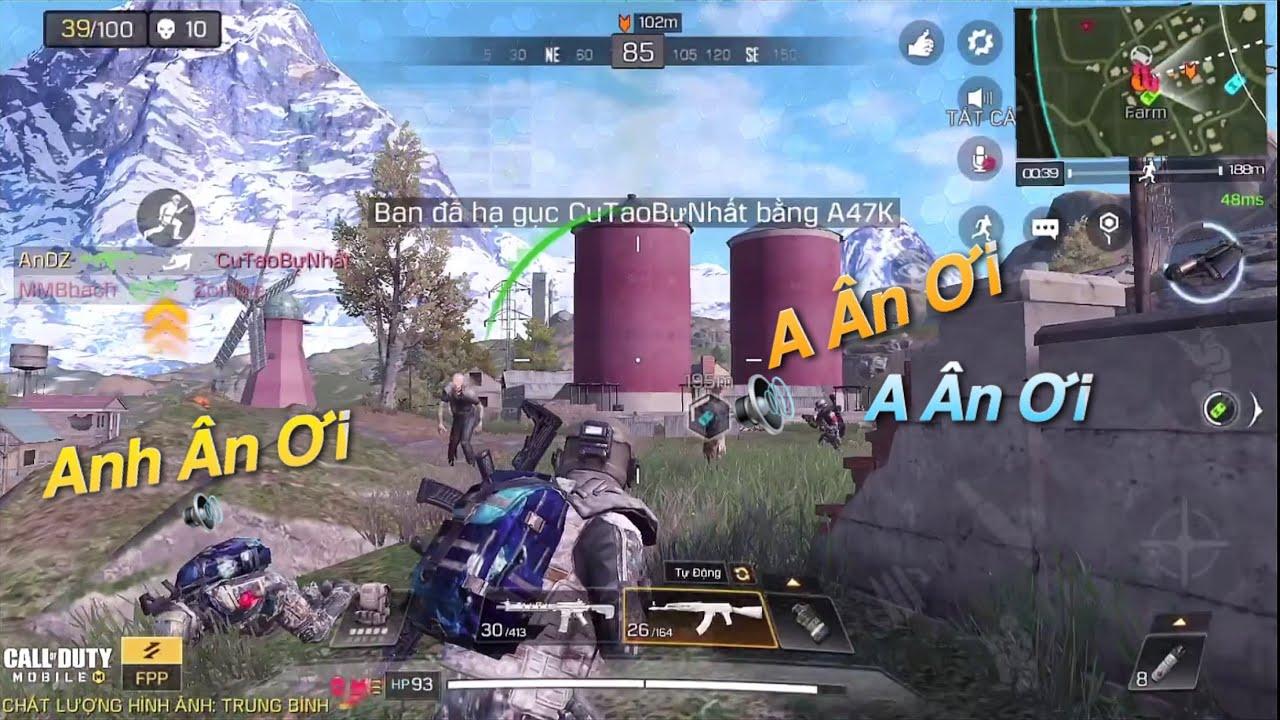 """Call of Duty Mobile   Bị Các """"Anh Ân Ơi"""" Săn Bán Hành 😂    BOSS Chó Địa Ngục Cực Giàu Đồ VIP √"""