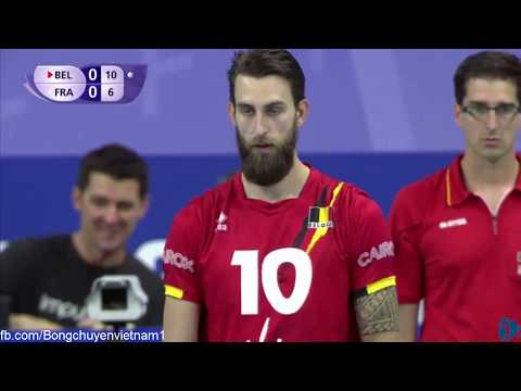 Belgium vs France l 2017 Volleyball World League l Week 3