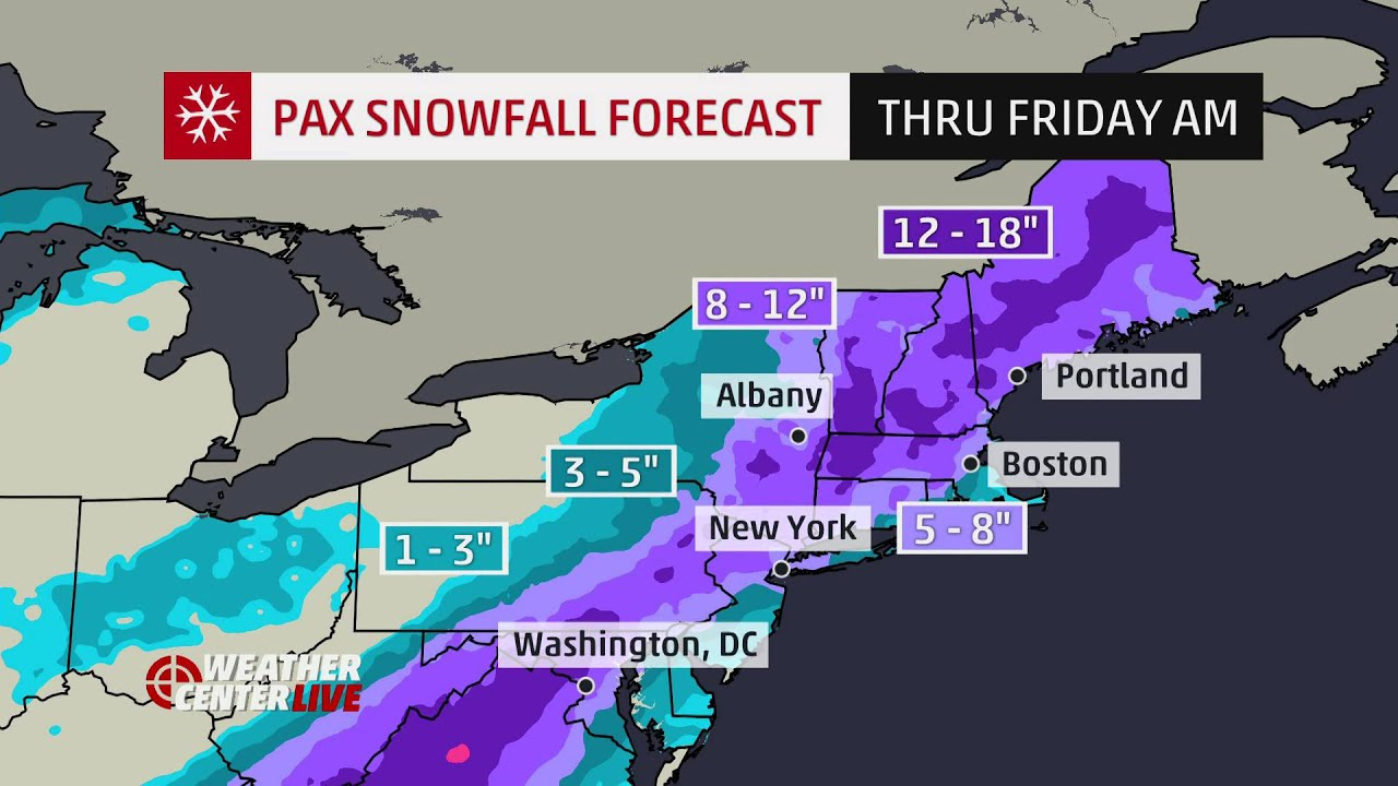 New York Weather: Snow To Be Followed By Sleet & Heavy Rain