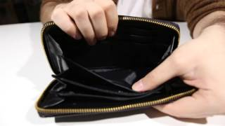 Обзор кошелька Mi Pac Wallet  Zip Purse ostrich black