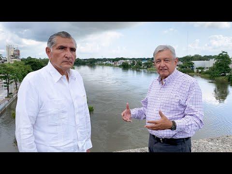 Continúa evaluación de inundaciones en Tabasco