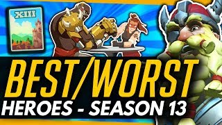 Overwatch | BEST And WORST Heroes For SEASON 13 - Meta Breakdown