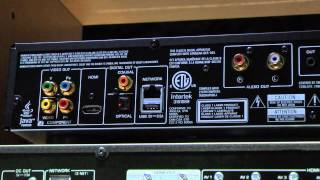 Yamaha BD-A1020 Universal Blu-ray Player CEDIA Video Preview