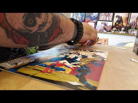 Comic book rescue ( kinda) with barbarian_kungfu.  Tutorial on removing defects from comic books.