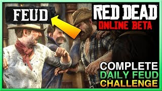 Red Dead Redemption 2 Online Feud Daily Challenge - Red Dead Online Daily Challenge Guide