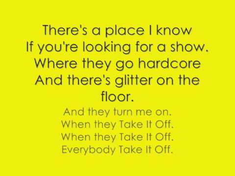 Take It Off lyrics