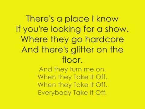 Take It Off lyrics