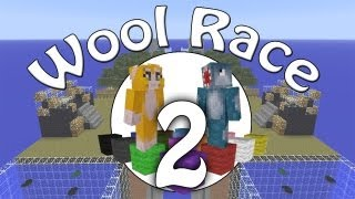 Minecraft Xbox - Wool Race - Green Wool Check! - Part 2