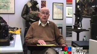 Dinning World War II veteran U.S. Army Air Force Natick Veterans Oral History Project