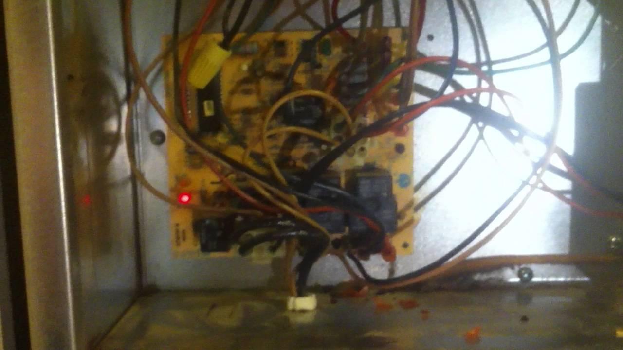 Nordyne M1m Furnace Not Lighting No Code