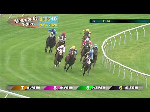 video thumbnail for MONMOUTH PARK 09-27-20 RACE 10  THE JOEY P HANDICAP