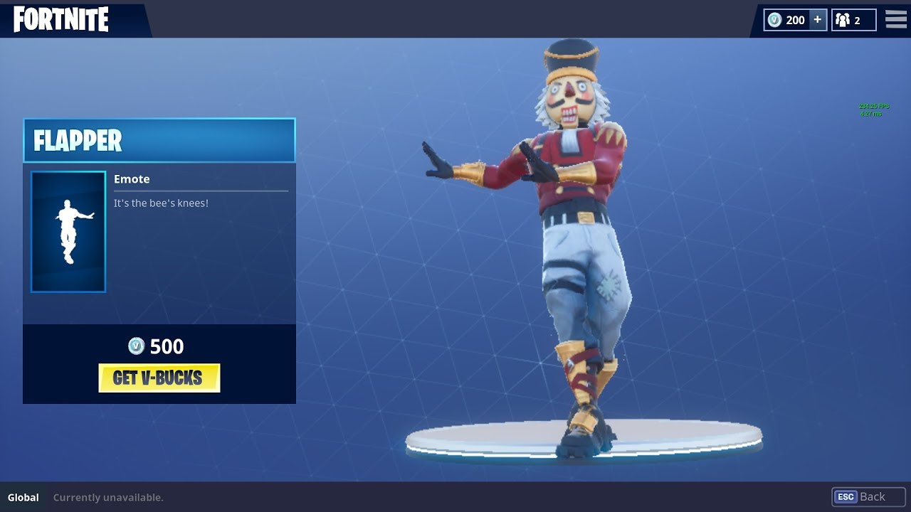 Fortnite New Dance Move Flapper