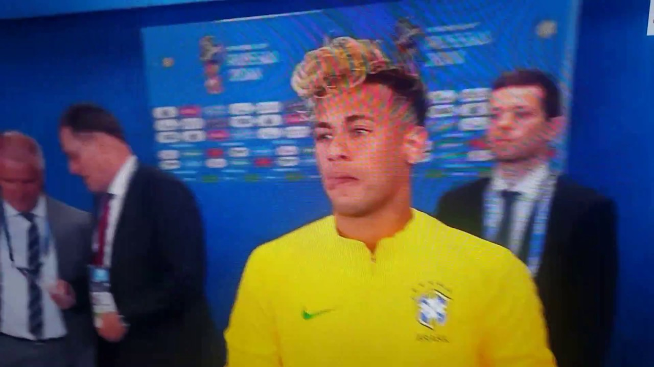 Neymar Jr New Hairstyle World Cup 2018 Youtube