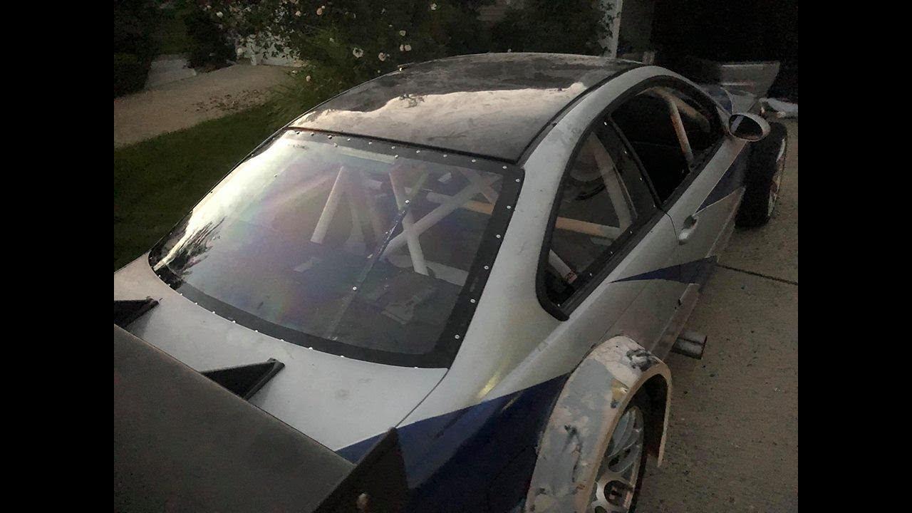 Finally Drove M3 GTR + Back Lexan Windshield Install! - YouTube