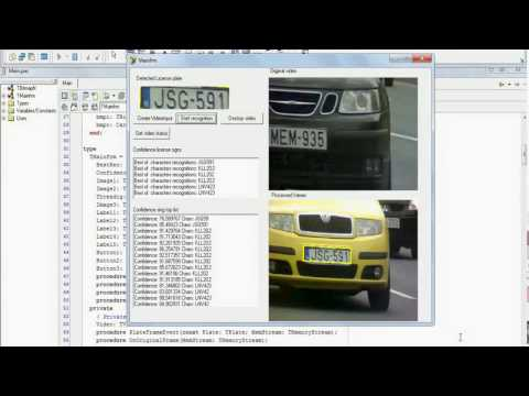 New ALPR License Plate Recognition from video input