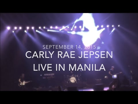 Carly Rae Jepsen Live In Manila 9/22/15 (Fancam)
