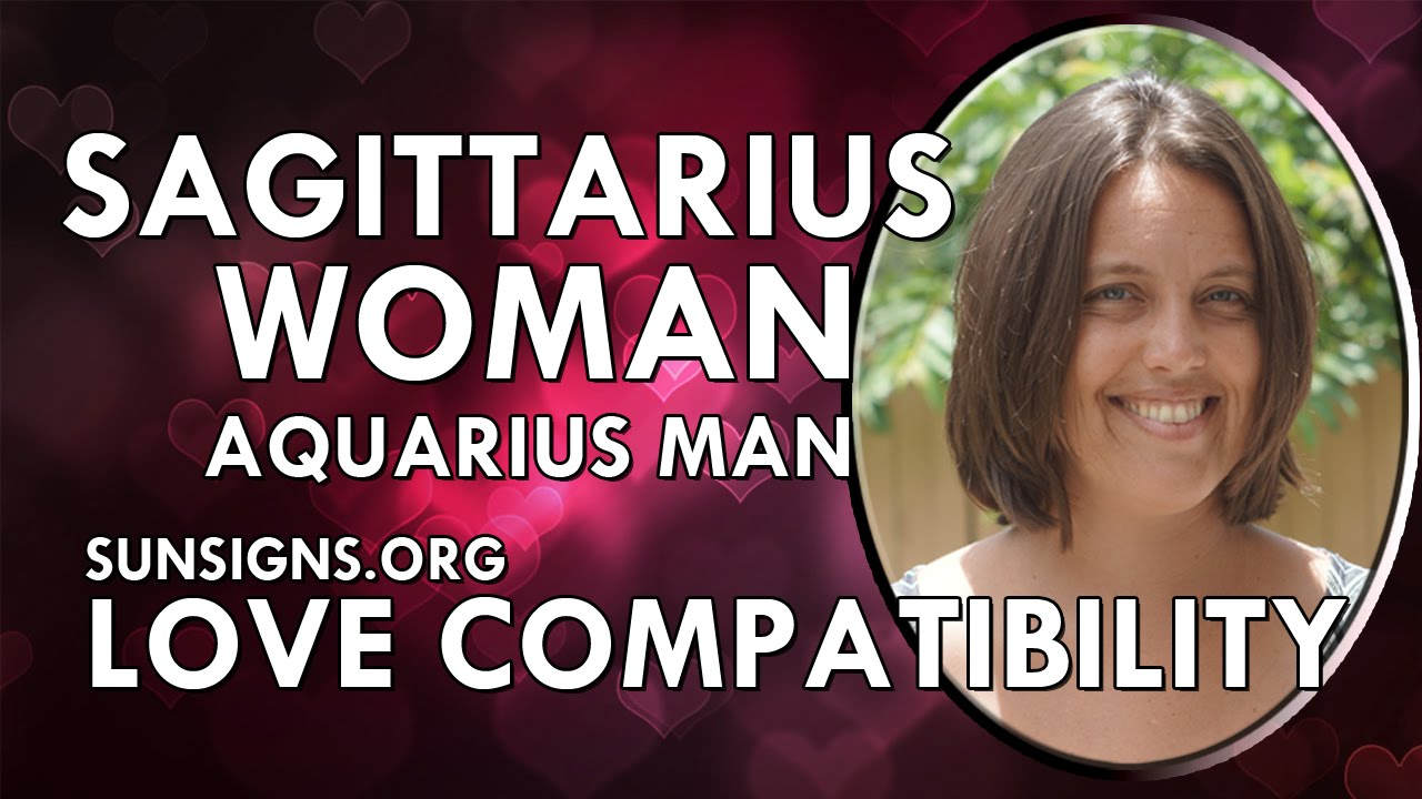 aquarius man and sagittarius woman