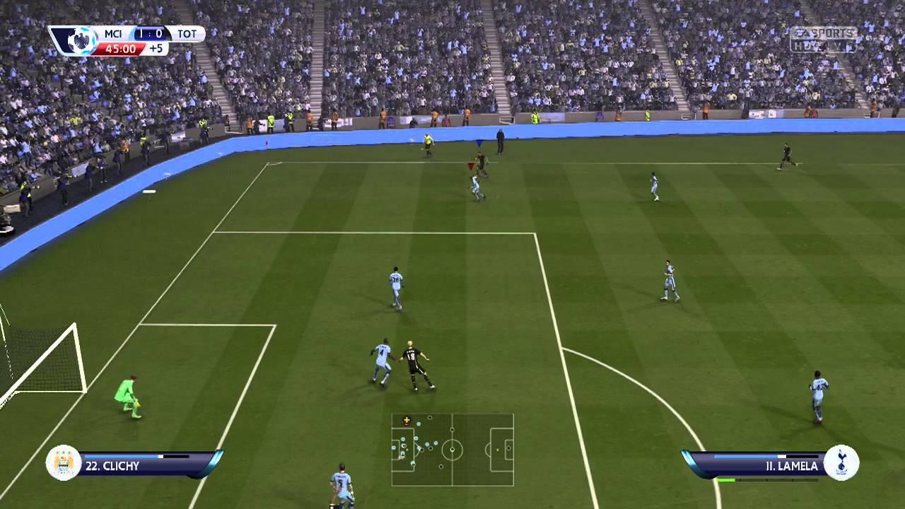 Let's Play... Fifa 15 Manchester City vs Tottenham Hotspur ...