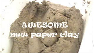 New Paper Clay to Use In Your Studio