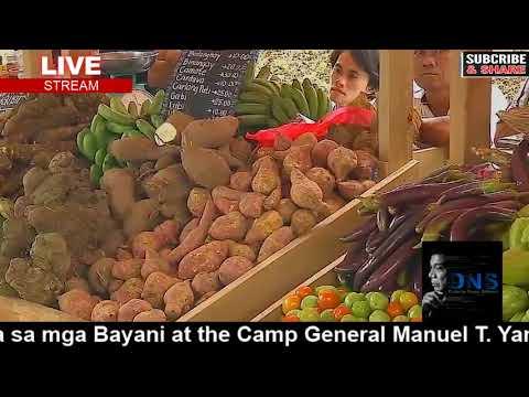 LIVE ! Pres. DUTERTE Graces the establishment of TienDA Para sa mga Bayani