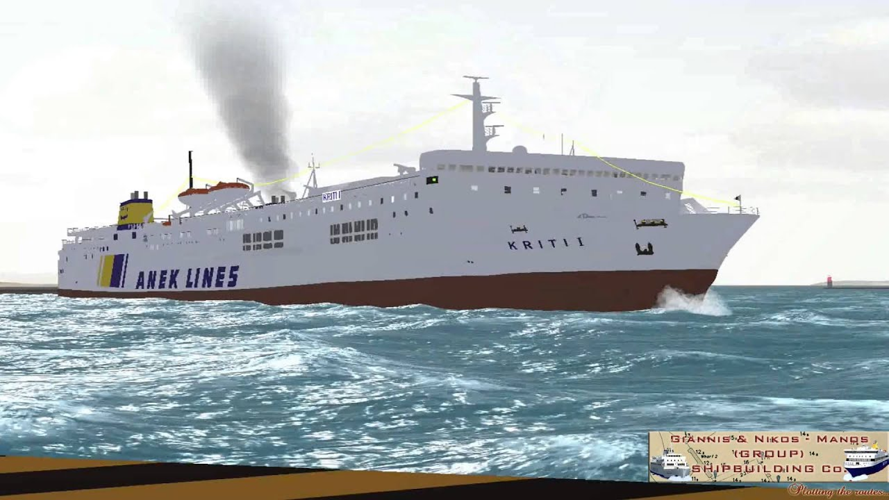 Kriti I Vehicle Simulator By G Amp N M Group Shipbuilding