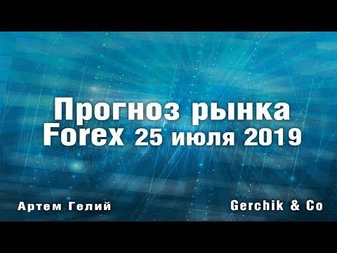 Прогноз форекс на 25.07.2019