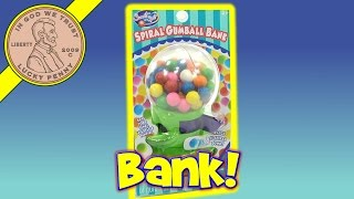 Imperial Spiral Gumball Bank - Pay To Get A Gumball(Imperial Spiral Gumball Bank - Pay To Get A Gumball! It was interesting that bank only took pennies, nickels & dimes. I still thought it was cool that you could not ..., 2016-08-14T12:00:01.000Z)