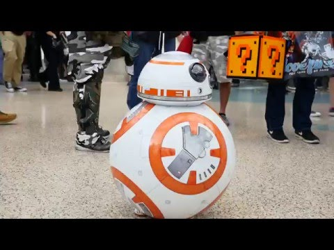 CUTEST Star Wars BB-8 Transforming Cosplay!!