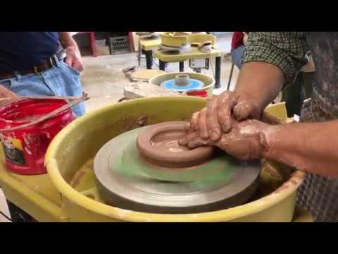 3717df8f5 HOW-TO POTTERY VIDEO  Make a French butter dish - YouTube