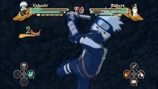 (XBOX 360) Young Kakashi vs Zabuza Naruto Ultimate Ninja Storm 3