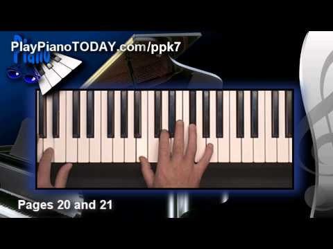 How to play the three most common 7th chords on Piano