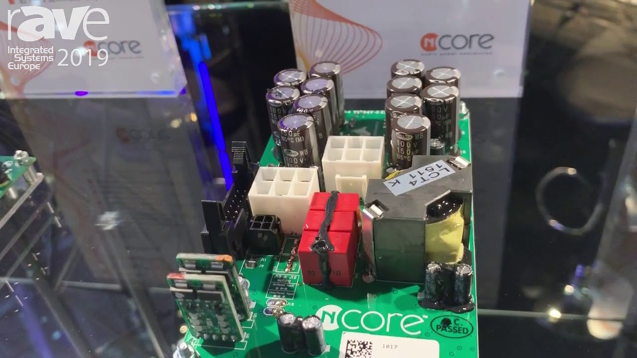 ISE 2019: Hypex Electronics Showcases NC1200 Audio Amplifier