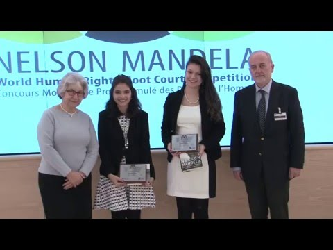 Final Round: 7th Nelson Mandela World Human Rights Moot Court Competition 2015