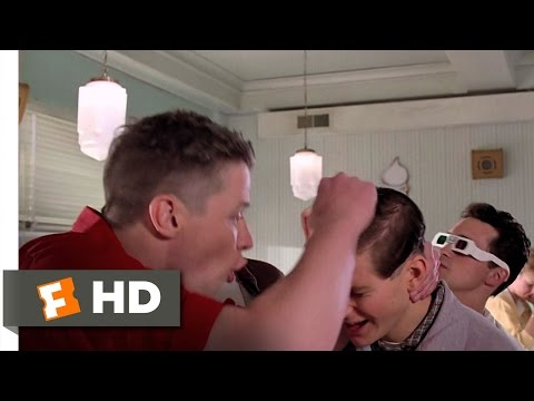 Back to the Future 410 Movie CLIP  Youre George McFly! 1985 HD