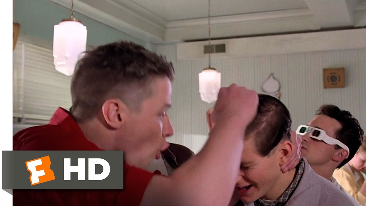 Back To The Future 410 Movie Clip Youre George Mcfly 1985