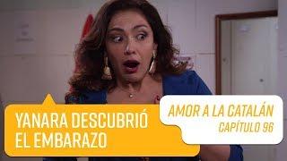 Yanara descubrió el embarazo de Dafne   Amor a la Catalán