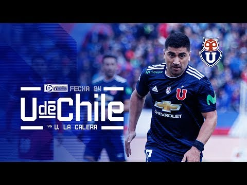 Universidad de Chile vs Unión La Calera [Fecha 24]