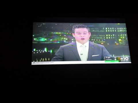 NBC 10 Boston News At 7 WBTS-TV Boston January 2, 2018 Montage