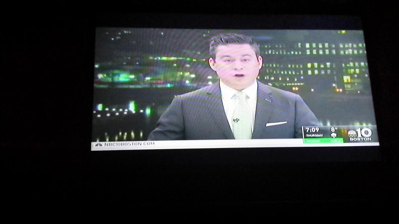 NBC 10 Boston News At 7|WBTS-TV Boston|January 2, 2018 Montage