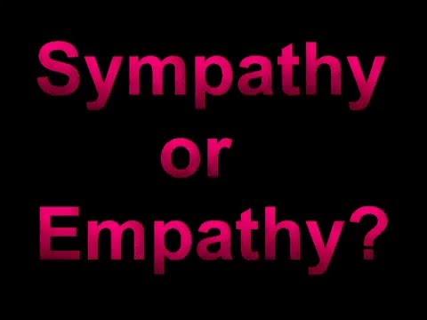 Sympathy vs. Empathy